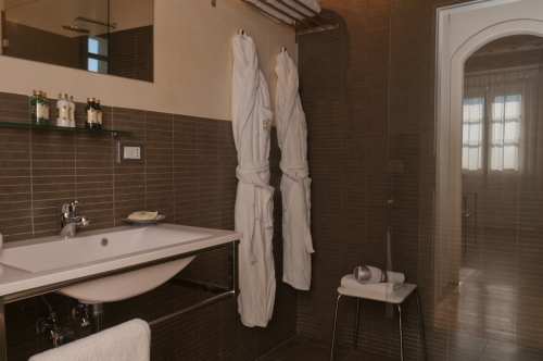 Picture of the bathroom of the room in the main house